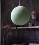 COTTON BALL LIGHTS Cotton Ball Lights enkelvoudige hanglamp groen - Powder Green