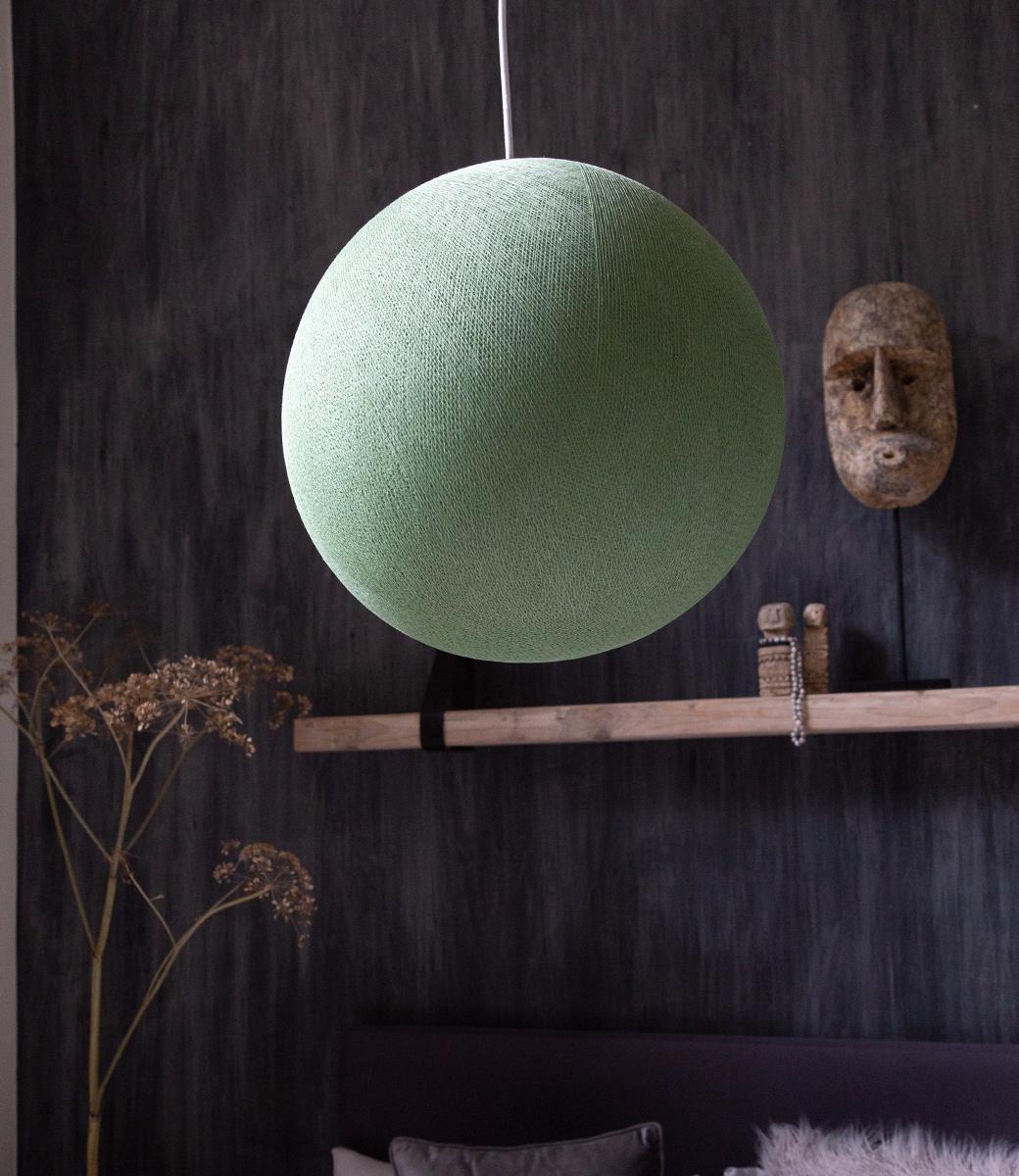 Cotton Ball Lights enkelvoudige hanglamp groen - Powder Green