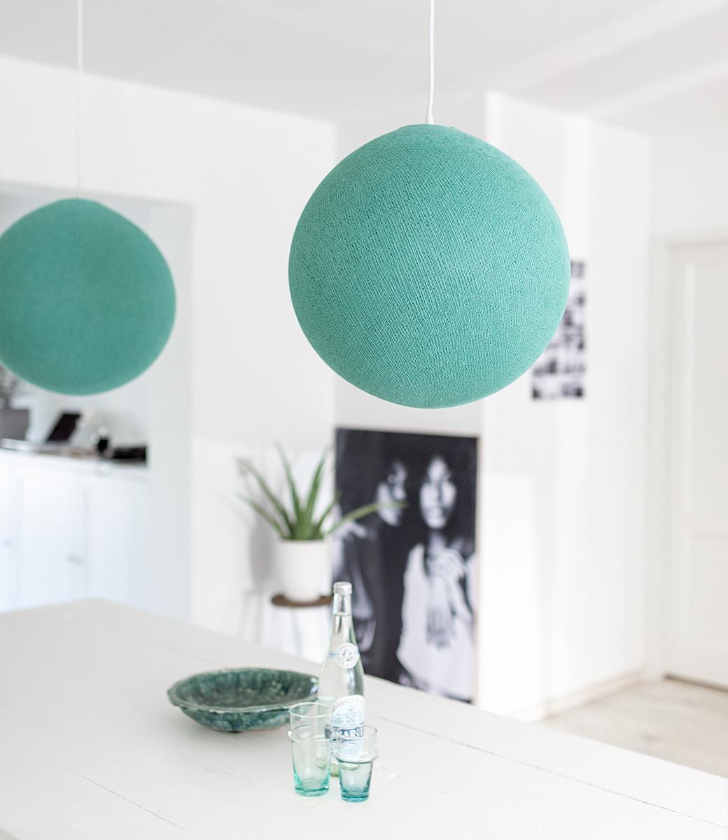 Cotton Ball Lights enkelvoudige hanglamp groen - Sea Green