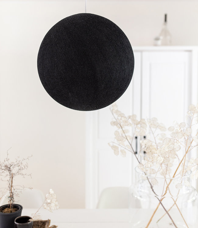 COTTON BALL LIGHTS Hanglamp - Black