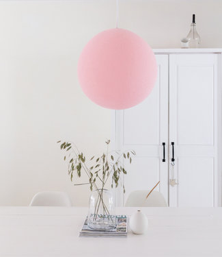 COTTON BALL LIGHTS Hanging Lamp - Light Pink