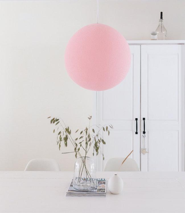 COTTON BALL LIGHTS Hängelampe - Light Pink