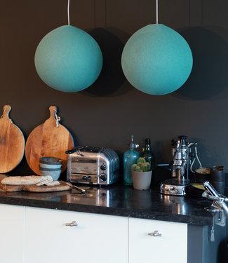 COTTON BALL LIGHTS Hanging Lamp - Mint