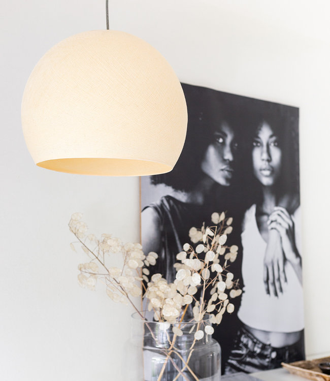 COTTON BALL LIGHTS Hanglamp Driekwart - Shell