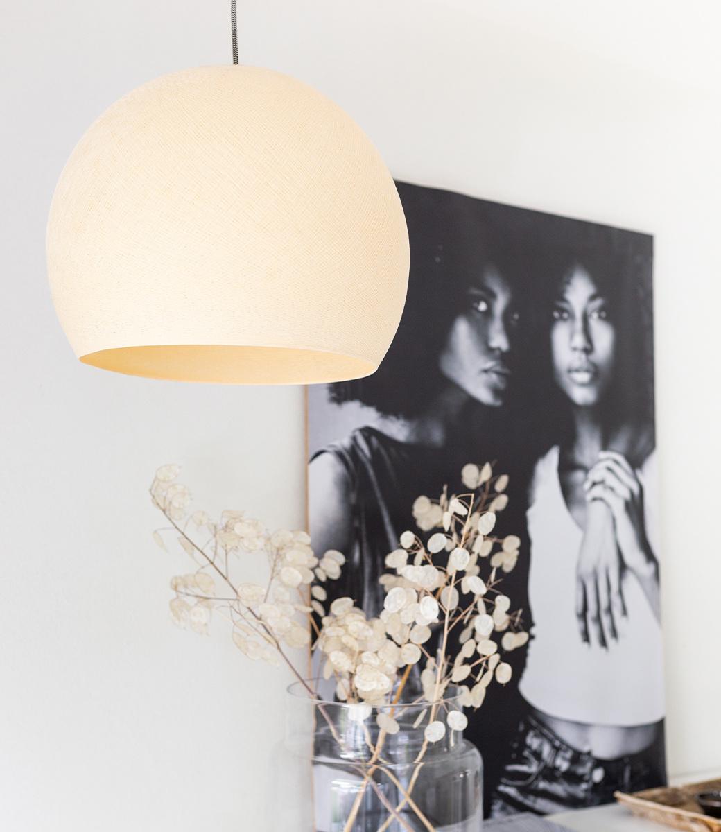 Cotton Ball Lights driekwart hanglamp beige - Shell