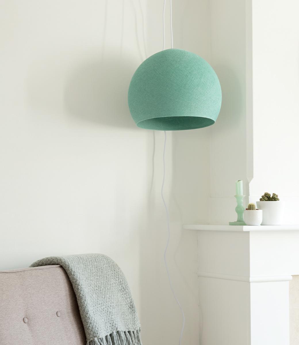 Cotton Ball Lights driekwart hanglamp groen - Sea Green