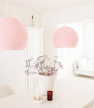 COTTON BALL LIGHTS Hängelampe Drei Vierteln - Light Pink