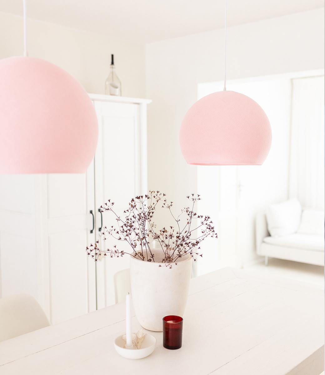 Cotton Ball Lights driekwart hanglamp roze - Light Pink