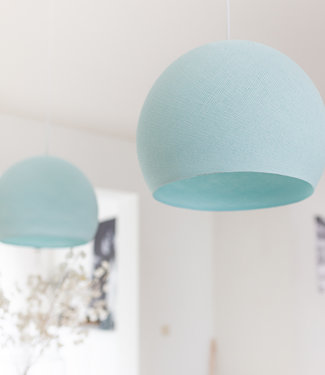 COTTON BALL LIGHTS Hanglamp Driekwart - Light Aqua
