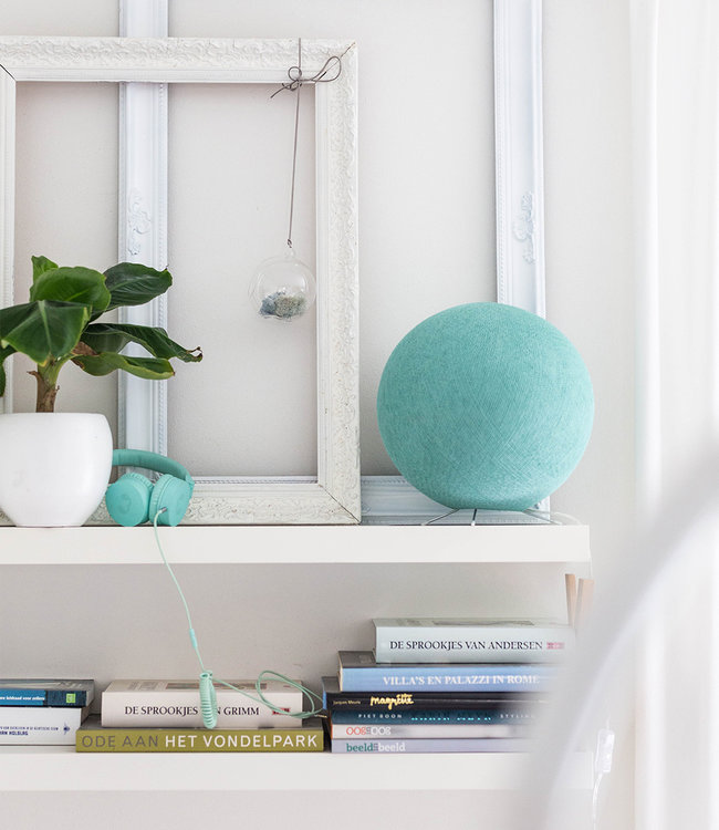 COTTON BALL LIGHTS Stehlampe - Sea Green