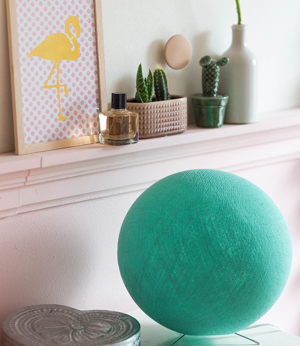 Cotton Ball Lights staande lamp groen Mint