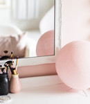 COTTON BALL LIGHTS Cotton Ball Lights staande lamp roze - Light Pink