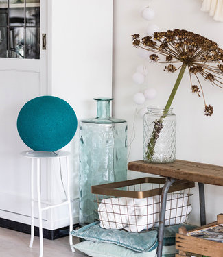 COTTON BALL LIGHTS Standing Lamp - Heavy Aqua