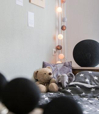 COTTON BALL LIGHTS Standing Lamp - Black