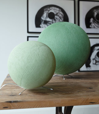 COTTON BALL LIGHTS Standing Lamp - Sage Green