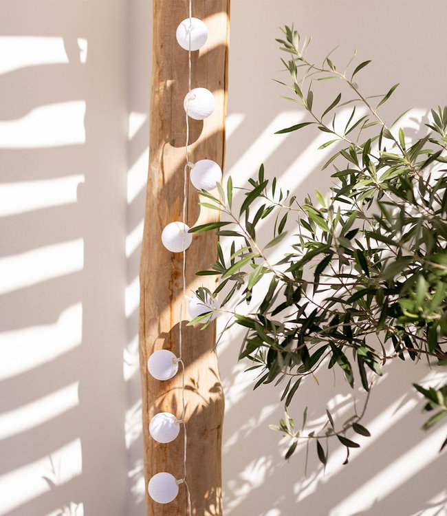 LUBANIDA Outdoor String Light - Blanco