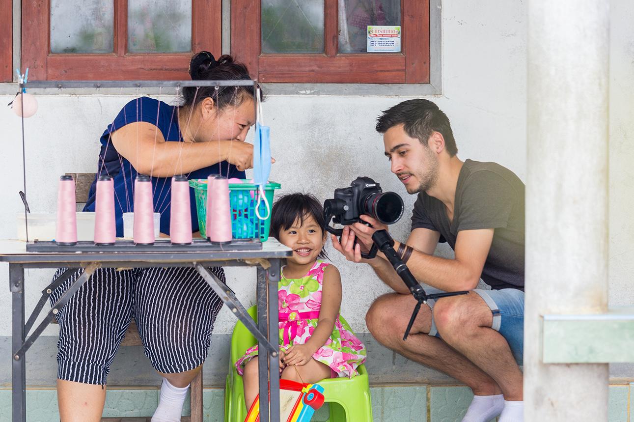 Een kijkje achter de schermen bij de opnames van de Fairtrade film