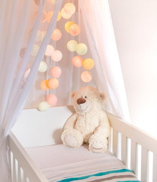 Inspiratie | Kinderkamer | Regular Pastel Lichtslinger