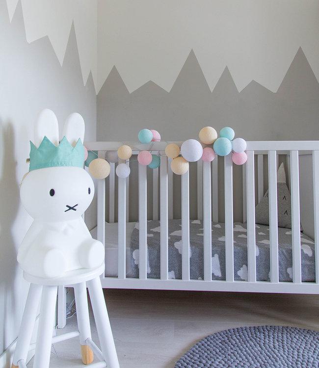 Inspiratie | Kinderkamer | Premium Pastel Lichtslinger
