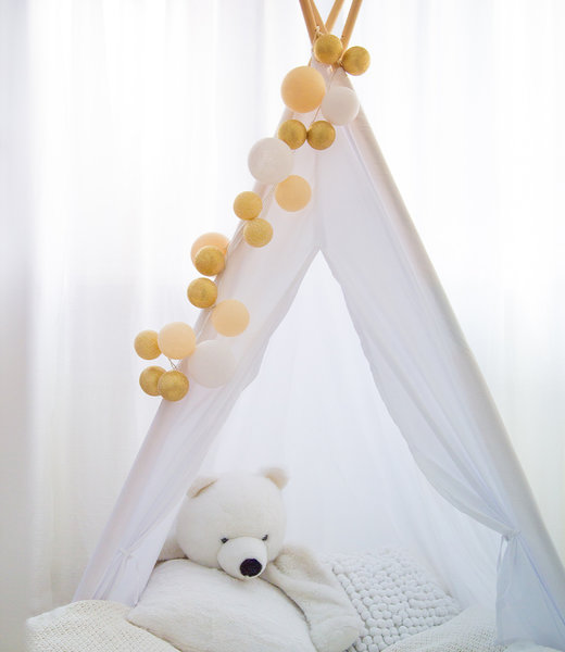 Inspiration | Kids Room | Sparkling Touch of Gold String Light