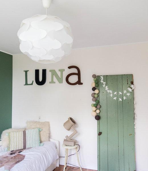 Inspiration | Kids Room | Premium Urban Green String Light