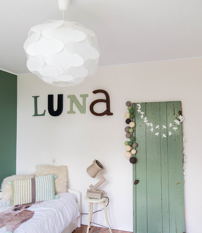Inspiratie | Kinderkamer | Premium Urban Green Lichtslinger