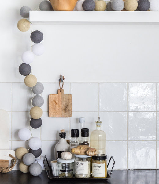 Inspiration | Kitchen | Regular Sand Grey String Light