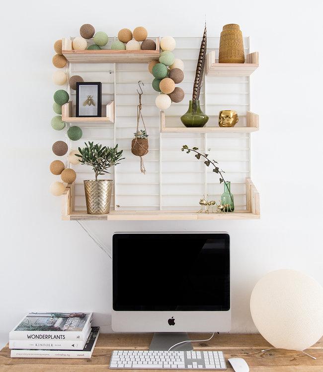 Inspiration | Workplace | Regular Forest Green String Light