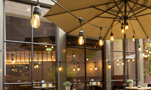 Premium Glühbirnen-Lichterketten