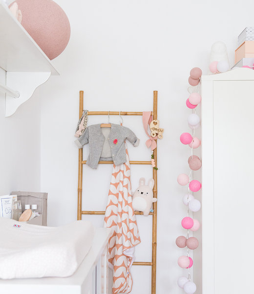 Inspiration | Kids Room | Pale Pink Standing Lamp