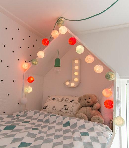 Inspiratie | Kinderkamer | Mix & Match Lichtslinger