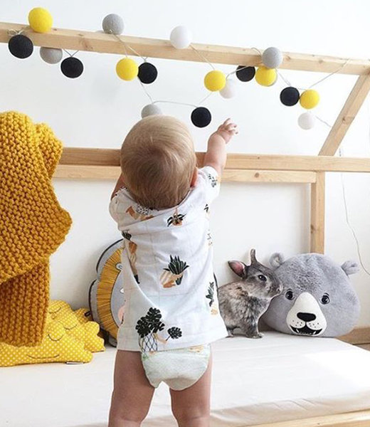 Inspiration | Kids Room | Mix & Match String Light
