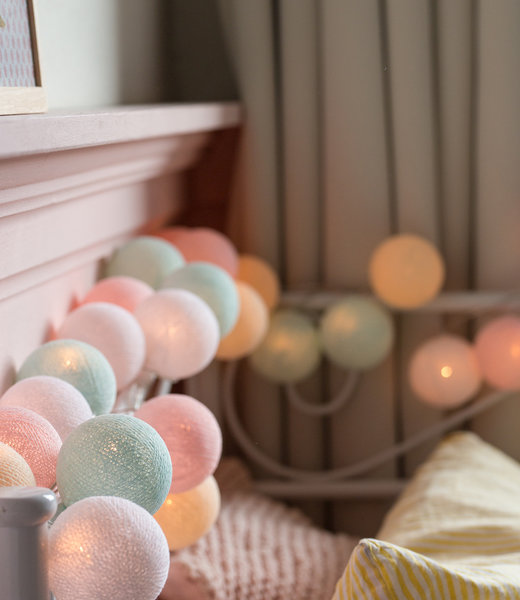 Inspiration | Kids Room | Regular Pastel String Light
