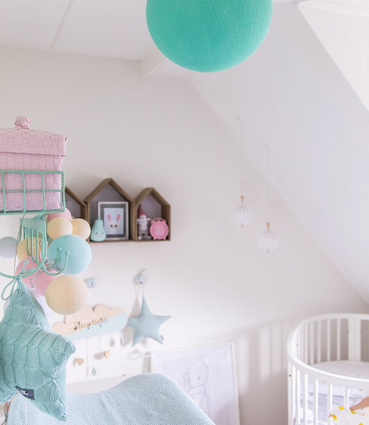 Inspiration | Kids Room | Aqua Hanging Lamp
