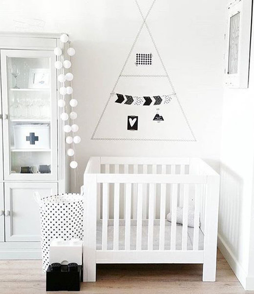 Inspiration | Kids Room | Regular White String Light