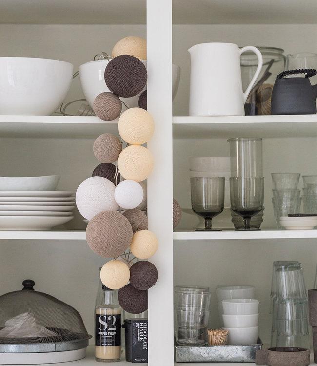 COTTON BALL LIGHTS Inspiratie | Keuken | Premium Natural Softs