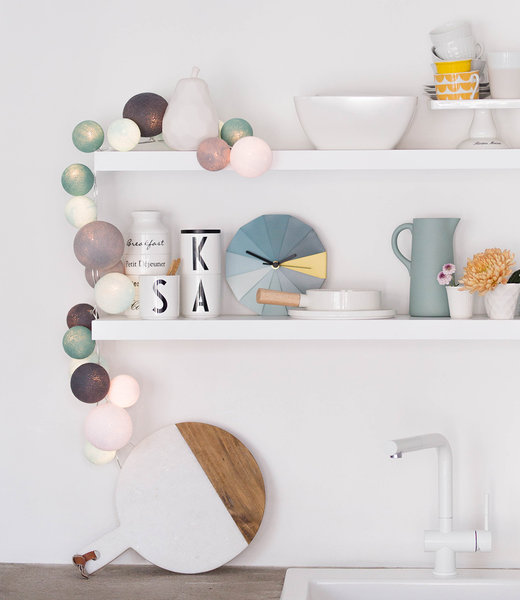COTTON BALL LIGHTS Inspiration | Kitchen | Premium Cool Choice