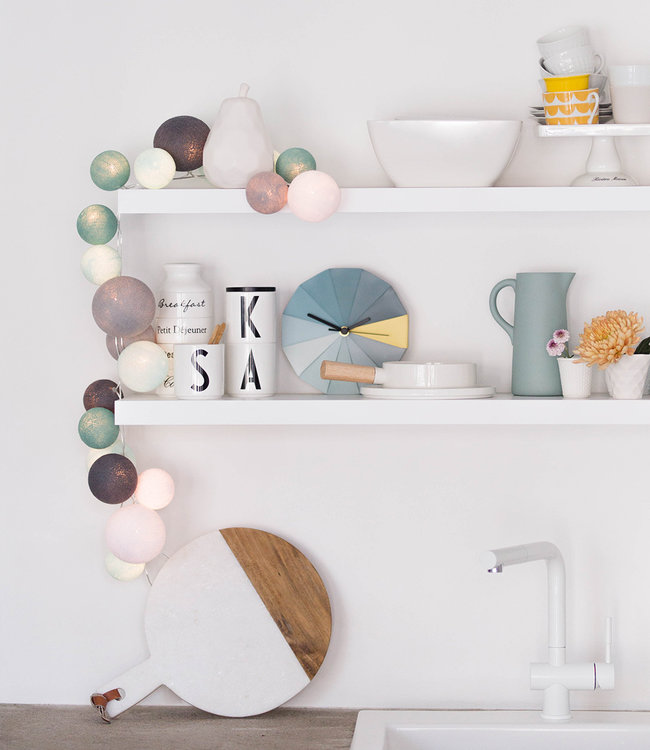 COTTON BALL LIGHTS Inspiration | Kitchen | Premium Cool Choice