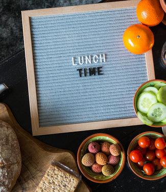 LEDR Inspiration | Küche | Grey Letterboard 30 x 30 2