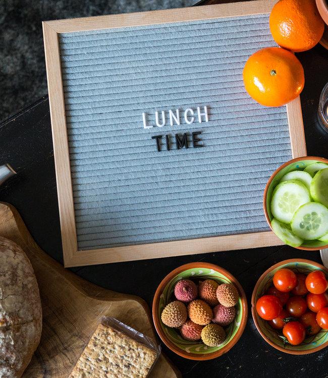 LEDR Inspiration | Kitchen | Grey Letterboard 30 x 30 2