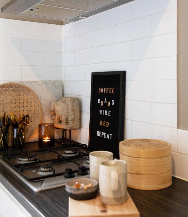 LEDR Inspiration | Küche | Black Letterboard 30 x 45