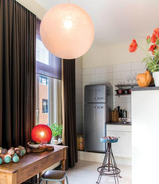 COTTON BALL LIGHTS Inspiration | Kitchen | Shell Hanging Lamp