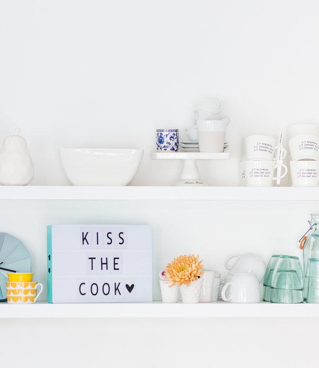 LEDR Inspiratie | Keuken | A4 Lightbox Mint