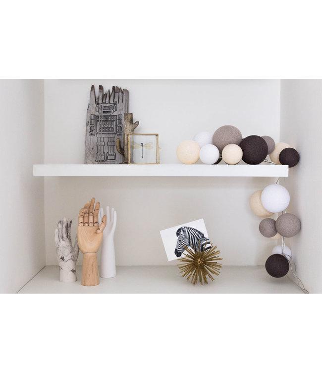 COTTON BALL LIGHTS Inspiration | Living Room | Premium Natural Softs
