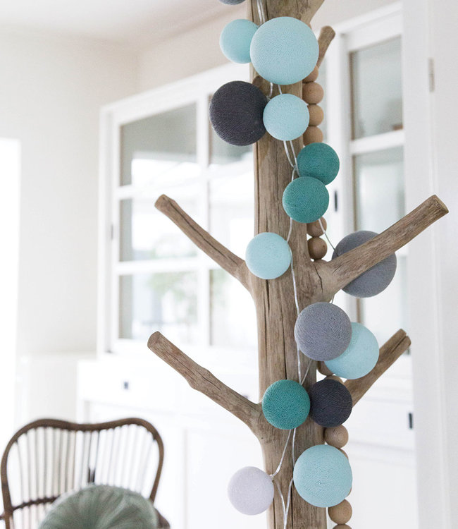 COTTON BALL LIGHTS Inspiration | Living Room | Premium Cool Choice