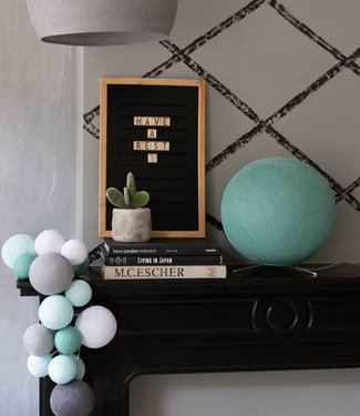 LEDR Inspiration | Living Room | Premium Cool Choice Sea Green Standing Lamp