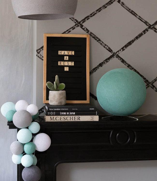 LEDR Inspiration | Wohnzimmer | Premium Cool Choice Sea Green Stehlampe