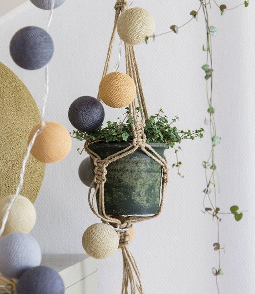 COTTON BALL LIGHTS Inspiration | Living Room | Mix & Match String Light 8