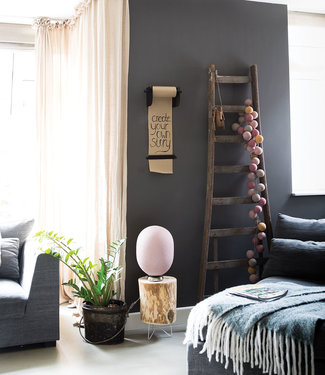 LEDR Inspiratie | Woonkamer | Kraft Paper Roller M Mix & Match Lichtslinger Durian Staande Lamp