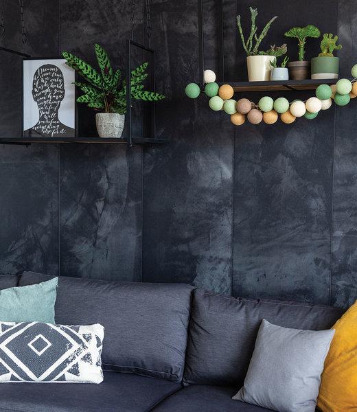 COTTON BALL LIGHTS Inspiration   Living Room   Regular Forest Green String Light 2